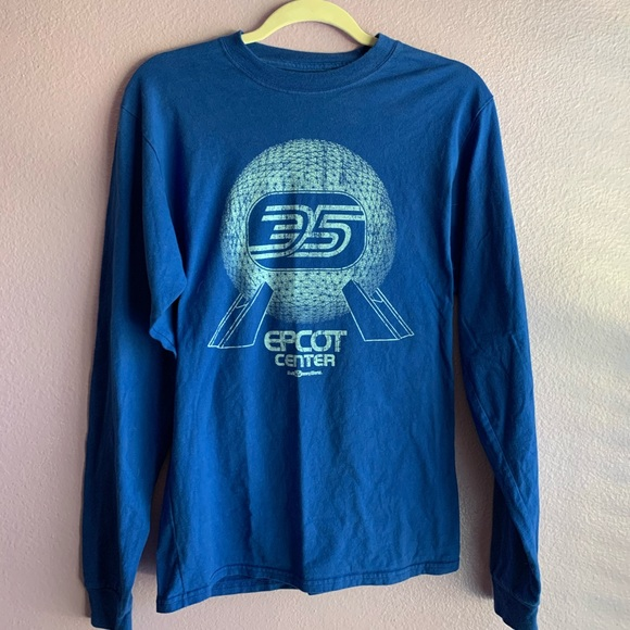 Disney Other - EPCOT 35th Anniversary long sleeve, S